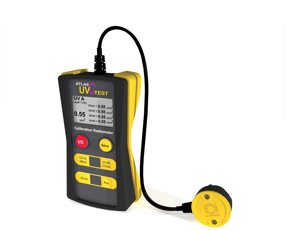 UVC Test Handheld Irradiance Calibrator Device