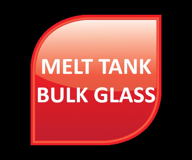 Melt Tank - Bulk Glass