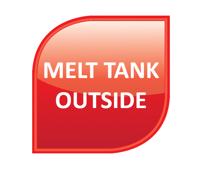 Melt Tank - Outside