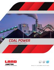 AMETEK Land Coal Power Industry Brochure (EN)