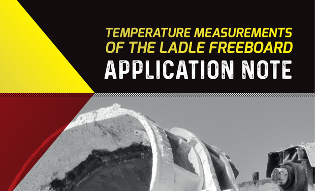 Application Note - Temperature Measurements of The Ladle Freeboard
