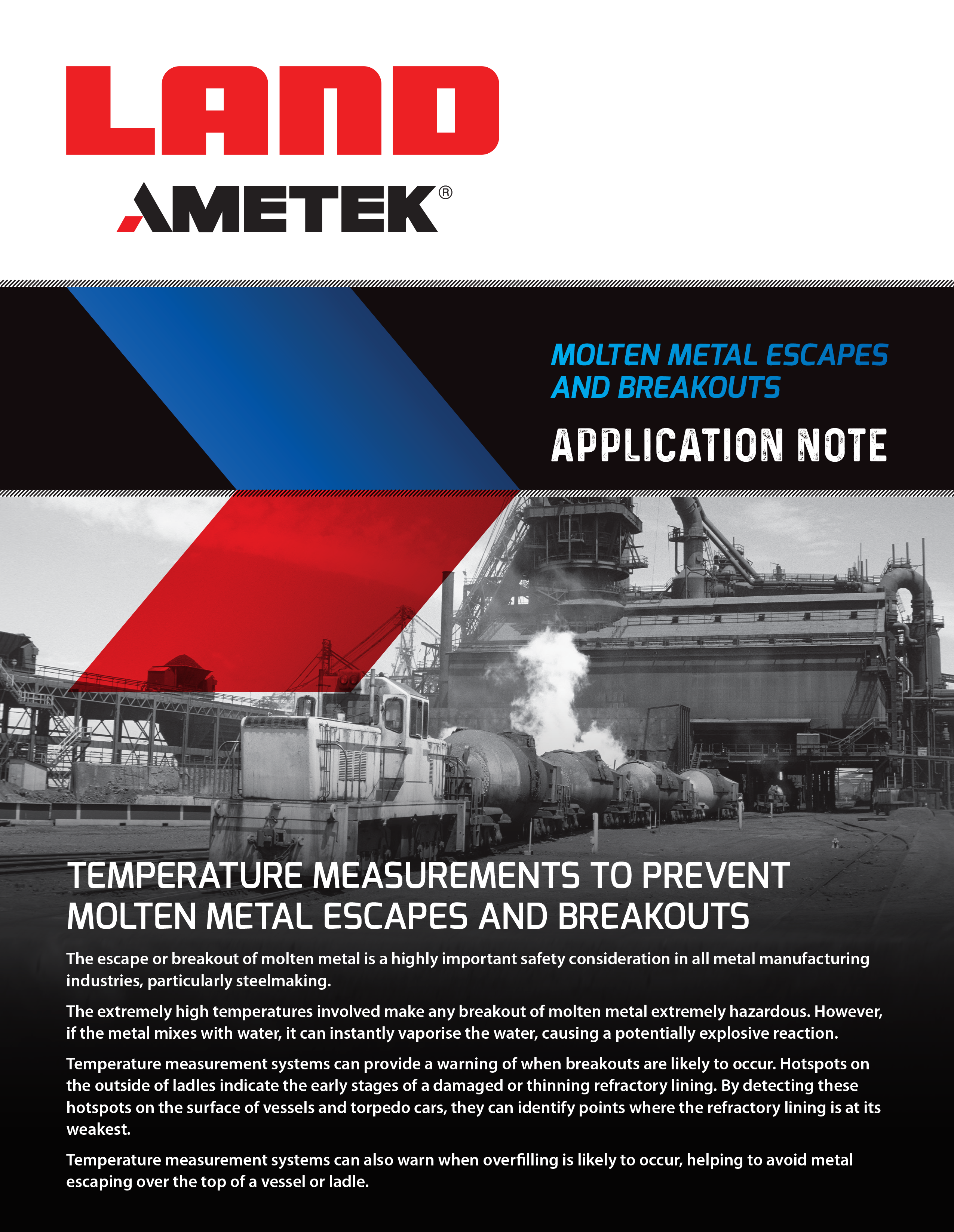 Molten Metal Escapes and Breakouts - Application Note