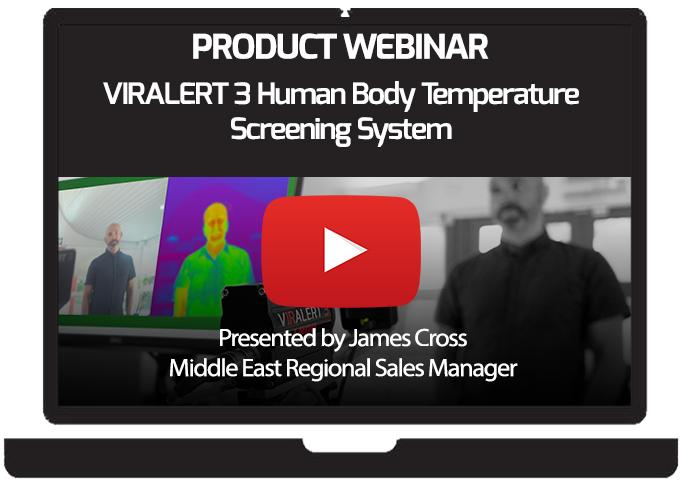 AMETEK Land Product Launch: VIRALERT 3 Human Body Temperature Screening System