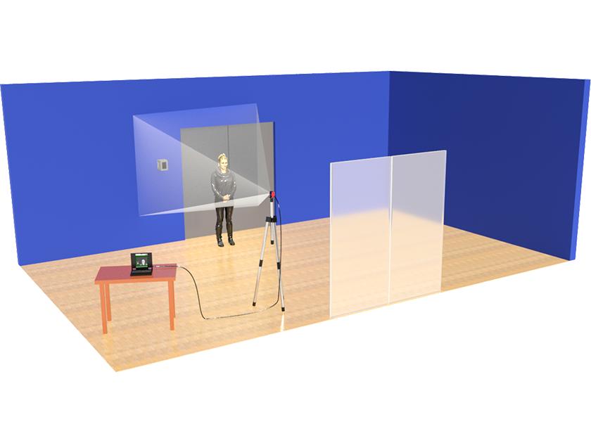 AMETEK Land vIRalert 2 - Human Body Temperature Measurement System