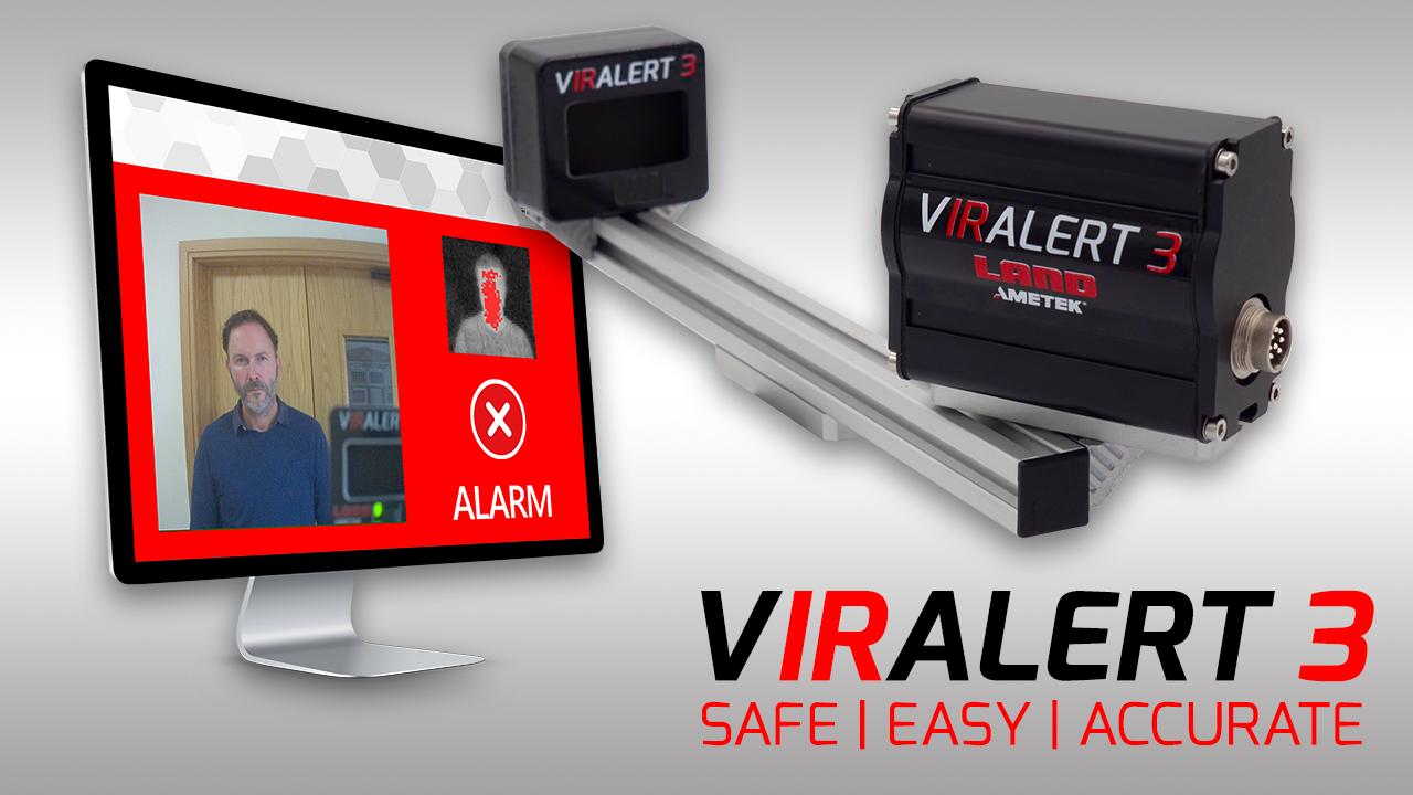 VIRALERT 3 - Human Body Temperature Screening System