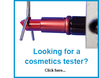 Find our range of cosmetics test machines here