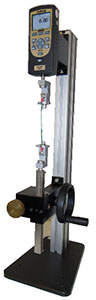 MT test stand with DFS force gauge