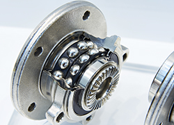 Automatic Measure of Strength at Break on Steel Pellets