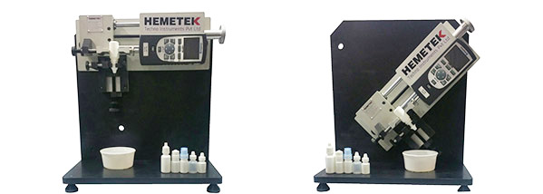 Hemetek Develops Squeeze Force Tester for Ophthalmic Bottles
