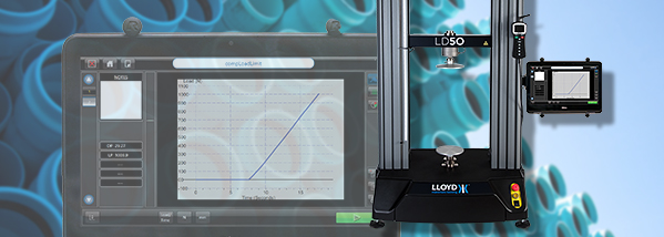 LD tablet for easy materials testing