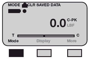 Clear saved data